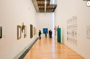 picture of the interior of an art gallery